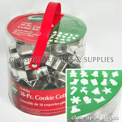 Wilton Holiday 18pc Cookie Cutter Set