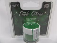 Rainbow Dust Edible Glitter HOLLY GREEN