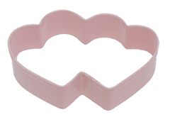 Mini Double Heart - Cookie Cutter