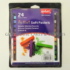 24 aritsts soft pastels