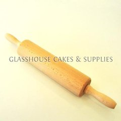 Wooden Rolling Pin 17 x 2.5 inches