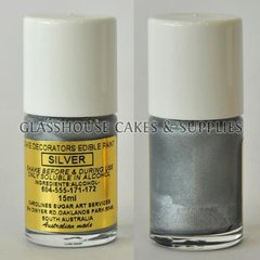 Silver Edible Paint