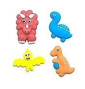 Assorted Dinosaurs Edible Toppers - 10 pack