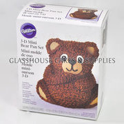 Wilton 3D Mini Bear Pan Set