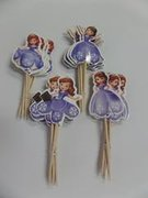 Princess Sofia Cupcake Toppers