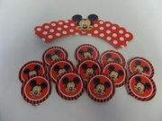 Mickey Mouse Cupcake Wrappers and Toppers