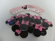 Mini Mouse Cupcake Wrappers and Toppers
