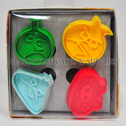 Angry Birds Plunger Cutter Set 4