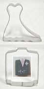 Wedding Bride and Groom Clothes Shape Cutters