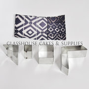 Geometric Chevron Cutter Set