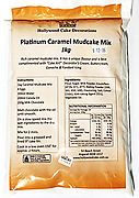 Platinum Caramel Mud Mix - 1kg