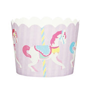 Merry Go Round Cardboard Cupcake Cases Robert Gordon