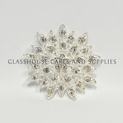 Diamante Brooch K504