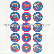 Superman Cupcake Edible Images