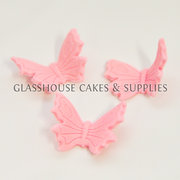 Butterfly Edible Toppers – Pink