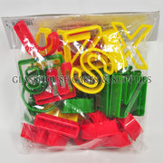 Plastic Fox Run Alphabet Cutters
