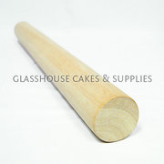 Large French wood rolling pin