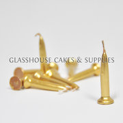Gold Bullet Candles 10 pack