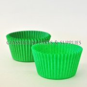50 Patty Cups Green
