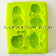 3 Newborn Baby Silicone Molds