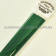 Green Hamilworth Paper Covered Wires
