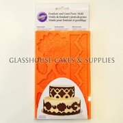 Damask Fondant & Gum Paste Mold
