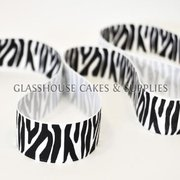 Zebra Stripe Ribbon