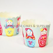 25 Russian Doll Robert Gordon Baking Cups
