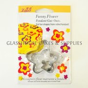 3 Funny Flower Linuo Cutters