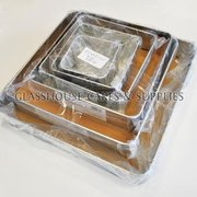 Set of 6 Square Baking Tins