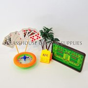 Casino And Gaming Plastic Toppers