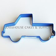Ute Cookie Cutter - Blue