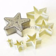 Plastic Star Shaped Cutter Set