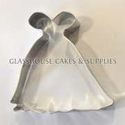 Wedding Dress Cookie Cutter