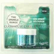 Sea Green Hologram Sparkle NON TOXIC