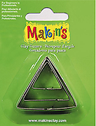 Triangle - Makins 3pc Cutter Set