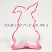 Pink Bunny Front View Cutter