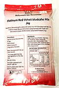 Platinum Red Velvet Mud Mix - 1kg