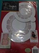 Doily Circle Set by Sharon Wee