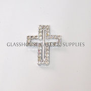 Small Bling Cross buckle