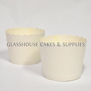 White Small Cardboard Baking Cups