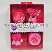 Red & Pink Hearts & Birds Cupcake Pack