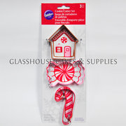Wilton Gingerbread House and Candy Cutter Set